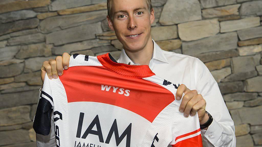Mit dem Aus des Schweizer IAM-Teams geht auch die Profikarriere von Marcel Wyss (30) zu Ende