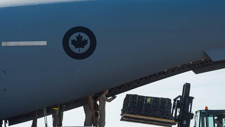 Ein kanadisches Militärflugzeug musste nach einem Coronavirus-Alarm auf dem Flug nach Lettland umkehren. (Archivbild)