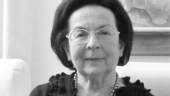 Engagierte sich mit Herzblut für Würenlos: Silvia Haab (1931-2020).