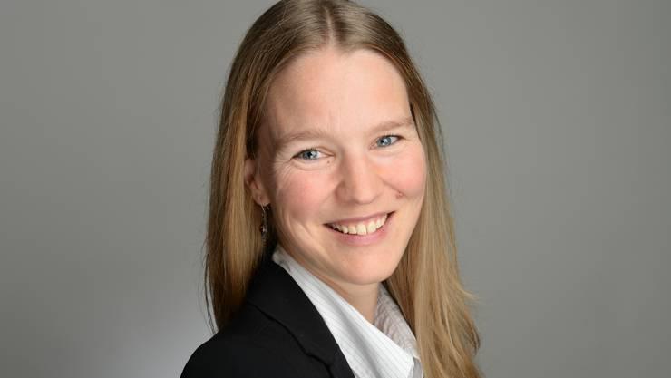 Kandidatin Seraina Herzberg