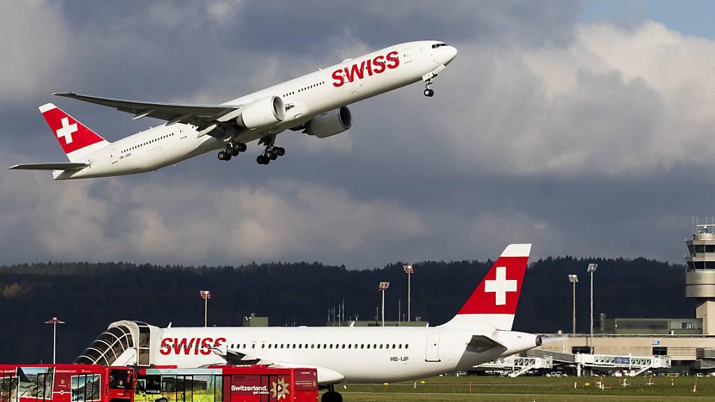 Swiss fliegt ab Ostern Sonnenhungrige öfters in den Süden (Archivbild)