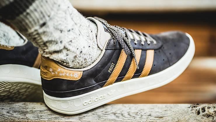 """Die """"Drei Streifen""""-Marke von Adidas ist laut einem europäischen Gerichtsurteil nicht uneingeschränkt geschützt. (Archivbild)"""