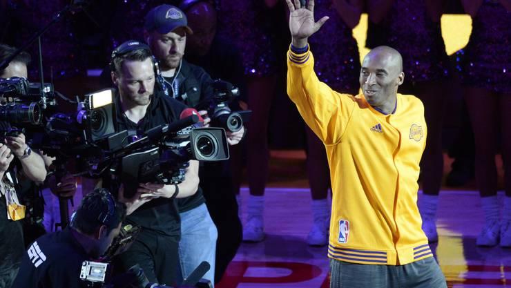 Kobe Bryant tritt zurück: Ein ganz Grosser verabschiedet sich von der Welt des Sports