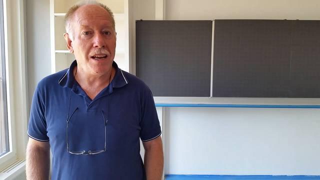 «Es wird noch einiges gehen müssen»: Bauverwalter Sandro Fischer über den Stand der Dinge im Oberstufenzentrum Niederrohrdorf.