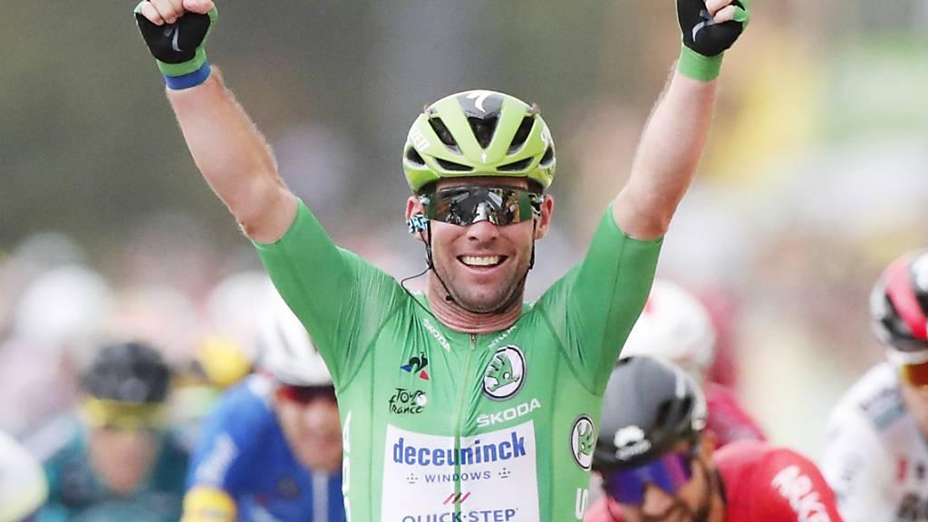 Nächster Streich von Mark Cavendish - Merckx' Rekord wankt