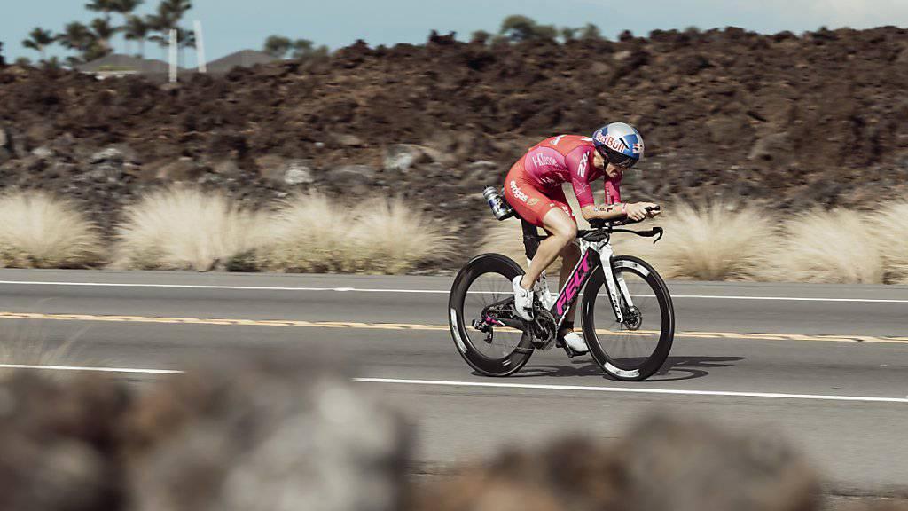 Daniela Ryf war am Trans-Vorarlberg-Triathlon eine Klasse für sich