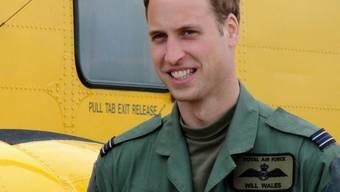 Prinz Williams ist Rettungspilot aus Leidenschaft