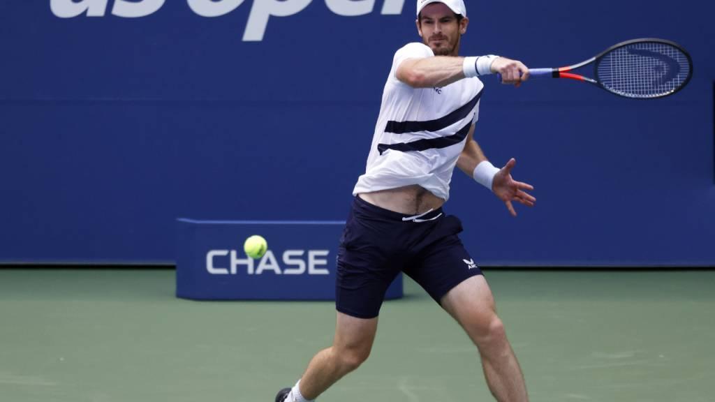 Die Hüfte hält: Andy Murray besteht am US Open über fünf Sätze