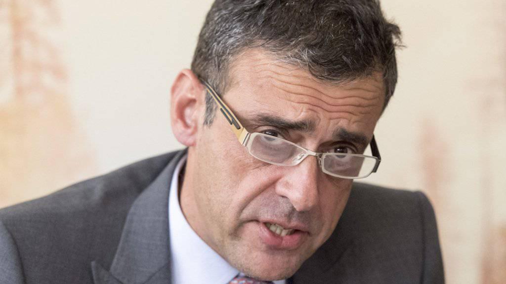 ACS-Zentralpräsident Mathias Ammann gerät verbandsintern zusehends unter Beschuss. Eine Mehrheit der Sektionen will den FDP-Nationalrat Christian Wasserfallen als seinen Nachfolger wählen.