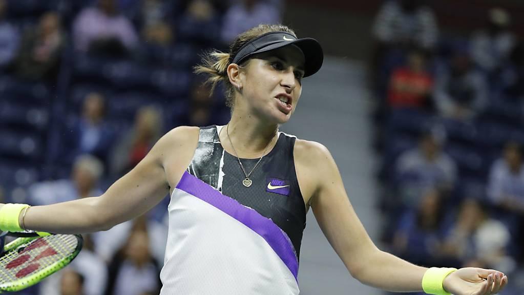 Belinda Bencic scheitert trotz einem perfekten Start in die Partie gegen die Deutsche Anna-Lena Friedsam