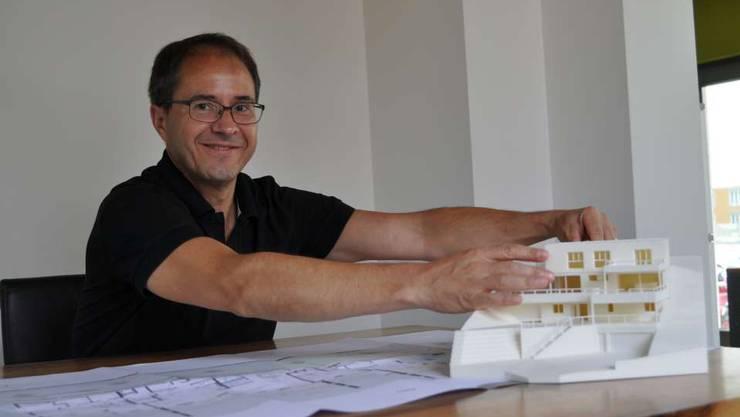 Architekt Urs Bucher darf das kantonale Turnzentrum Lenzburg nicht bauen.