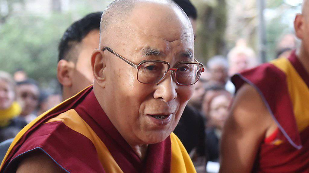 Der Dalai Lama kommt in die Schweiz. Sein viertägiger Besuch ist im kommenden September geplant. (Archivbild)