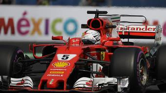 Sebastian Vettel holt in Mexiko seine 50. Pole-Position