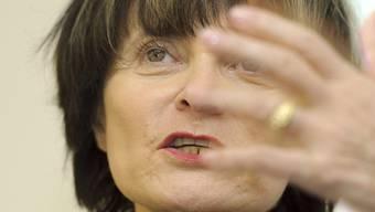 Fordert eine Stärkung des humanitären Völkerrechts: Bundesrätin Micheline Calmy-Rey