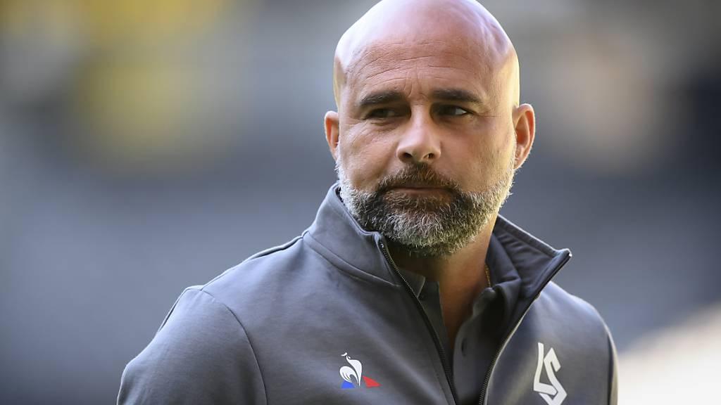 Lausannes Trainer Giorgio Contini bekommt hohen Besuch aus Genf