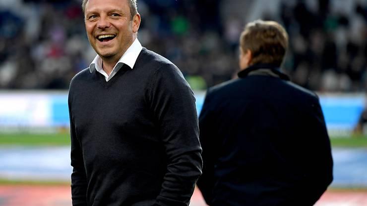 Hannovers Trainer André Breitenreiter hat gut lachen