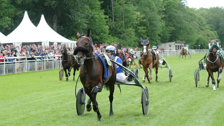 Sieger Napoleon de Bussy mit Barbara Schneider mit grossem Vorsprung.