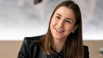 Belinda Bencic: Ankunft am Flughafen Zürich