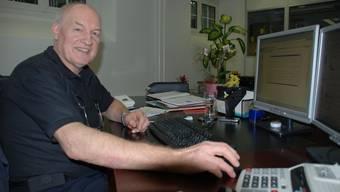 Peter Wäger, Betreiber des Internet-Forums Wohlen-Online.