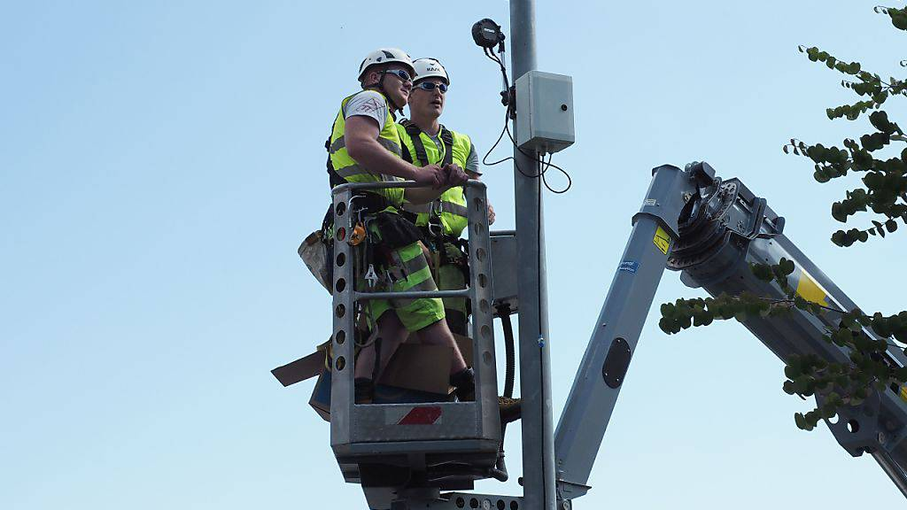 Die Gemeinde Altendorf setzt auf eine verkehrsabhängige Lichtsteuerung.