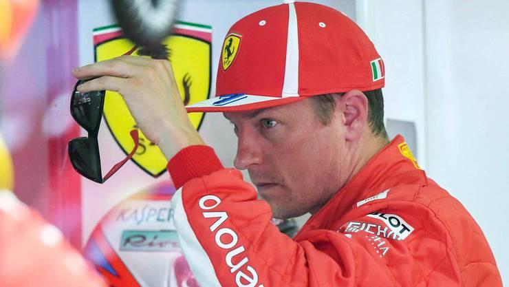 Kimi Räikkönen wird Ferrari auf Ende Saison verlassen.