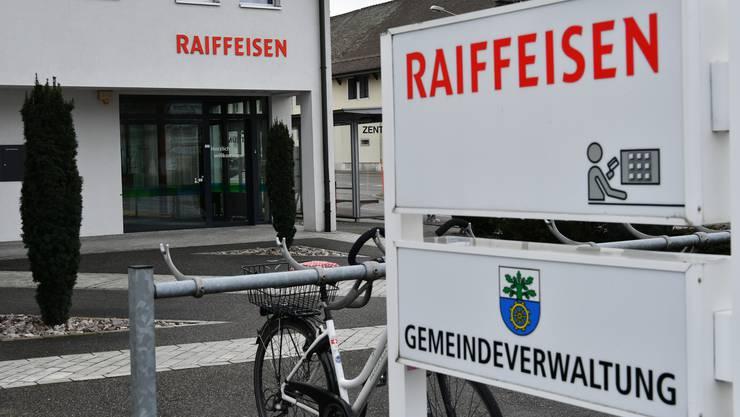 Noch bis Ende Juni ist der Bankschalter in Gunzgen geöffnet.