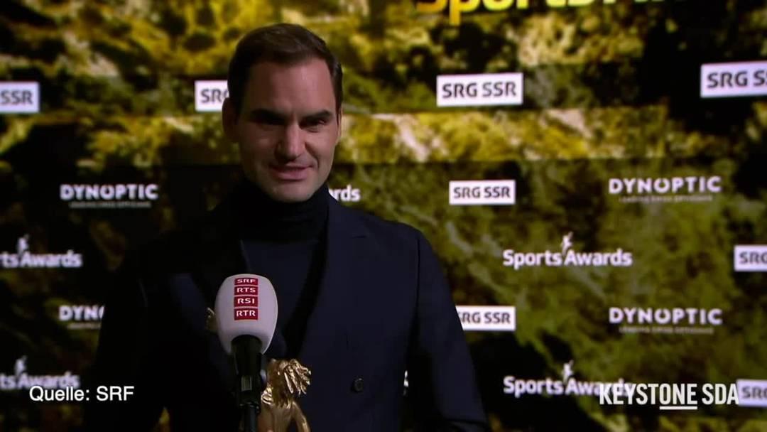 Sports Awards: Roger Federer und Vreni Schneider sind überwältigt