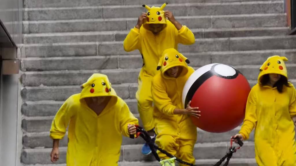 Pokémons schlagen in der realen Welt zurück