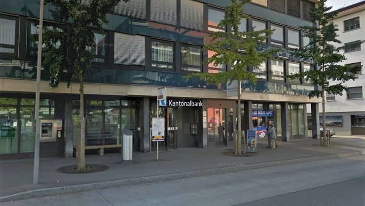 Die AKB-Fililale in Wettingen.