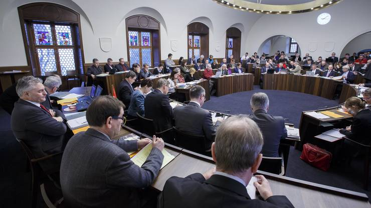 Solothurner Kantonsratssaal.