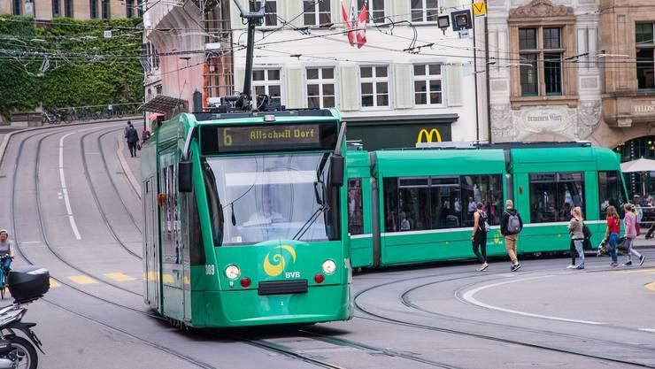 Laut CVP ist die Infrastruktur der Basler Verkehrs-Betriebe (BVB) ist in einem «desolaten Zustand».