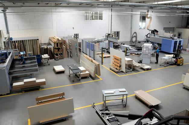 Das Unternehmen produziert hochwertige  Einrichtungen.