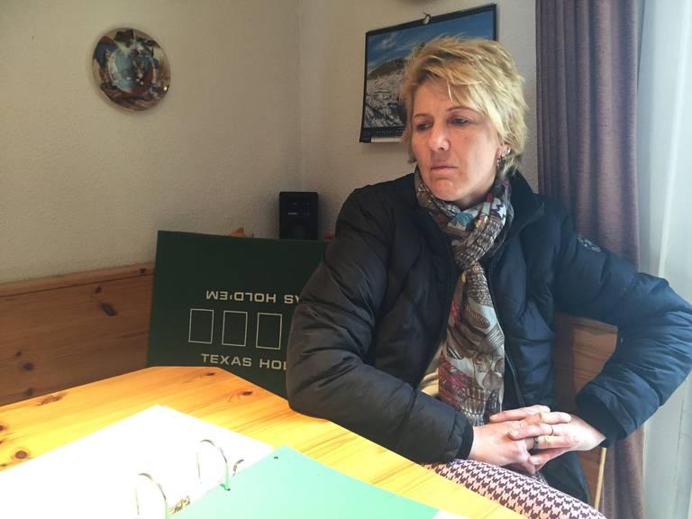 Anita Gantenbein. Ihr Ex-Mann stach ihrem neuen Freund mit einem Messer in den Bauch.
