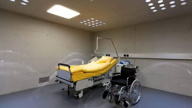 In der Strafanstalt Lenzburg AG gibt es für Seniorenhäftlinge eine eigene Altersabteilung. Foto: Keystone/Alessandro Della Bella