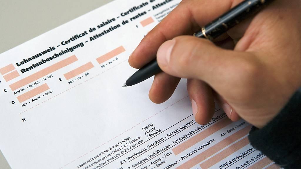 Die Löhne der Schweizer Angestellten dürften 2021 gemäss Umfragen der UBS und des Jobportals Jobcloud insgesamt stagnieren respektive nur punktuell bei einzelnen Mitarbeitern steigen. (Archivbild)