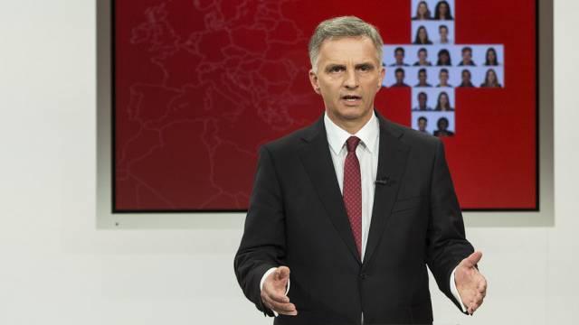 Bundespräsident Didier Burkhalter