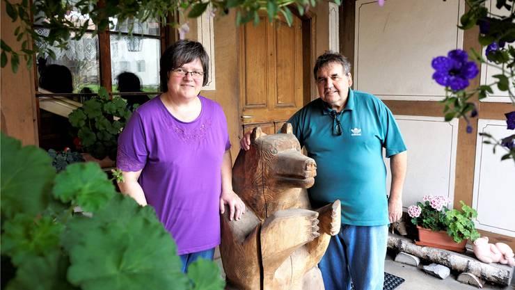 Elisabeth und Kurt Zimmermann wirten in vierter Generation im «Bären» Aetigkofen.