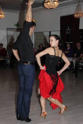 Sophie und Marcus beim Paso doble