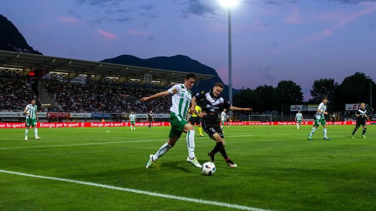 FC Lugano - FC St. Gallen.