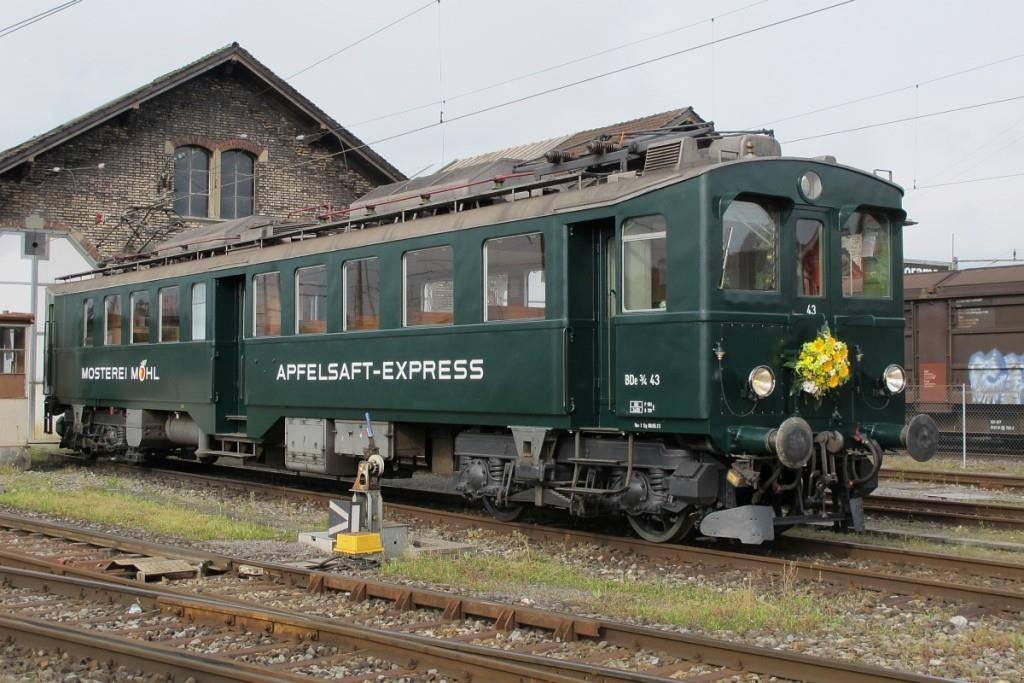 Der Apfelsaft-Express ist bei den Besuchern beliebt
