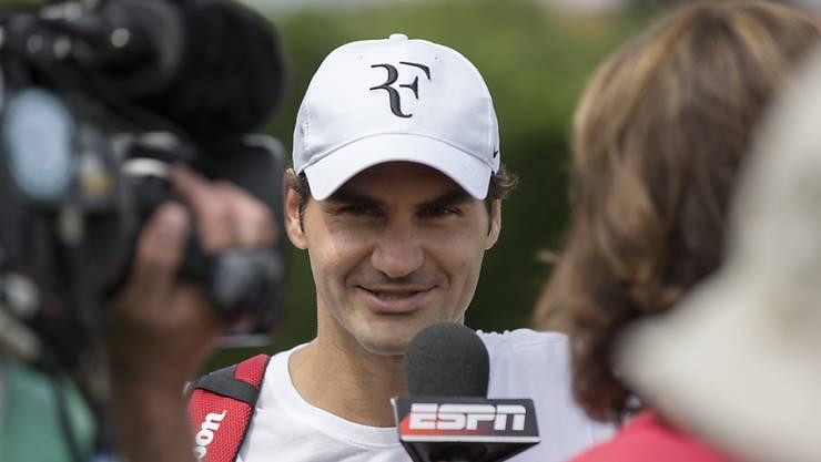 Federer schon im Fokus
