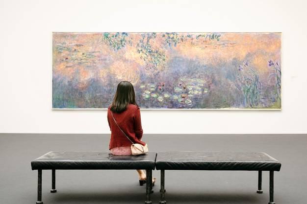 Kunsthaus Zürich: Sammlung; Monet; Impressionismus; Besucher