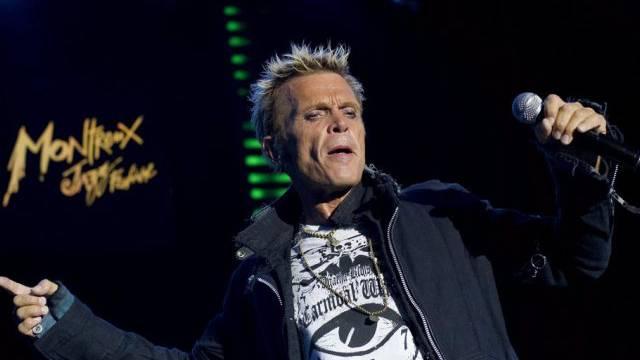 Britischer Sänger Billy Idol grenzenlos (Archiv)
