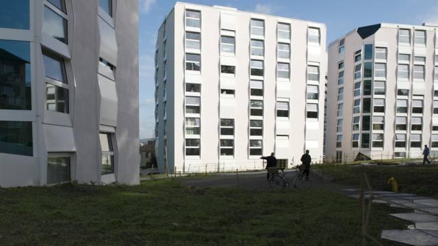 Wohnblöcke in Zürich-Altstetten (Archiv)