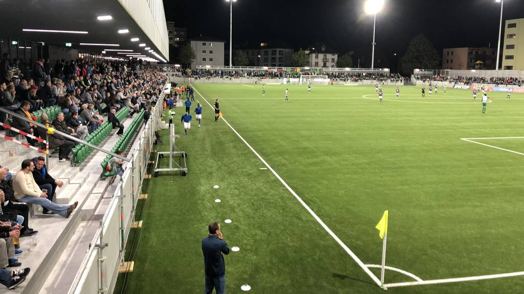 Hat der SC Kriens zu viele Fans ins Stadion gelassen? (Symbolbild)