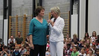 Schlussfeier im Schulhaus Brühl in Solothurn