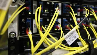 Die Schweiz ist gut mit Internet erschlossen (Archiv)