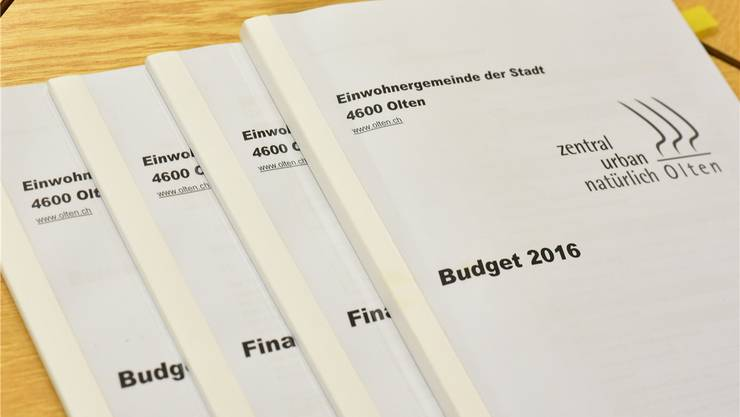 Nächste Woche berät das Parlament das Oltner Budget; die Ausgangslage ist einigermassen verworren.
