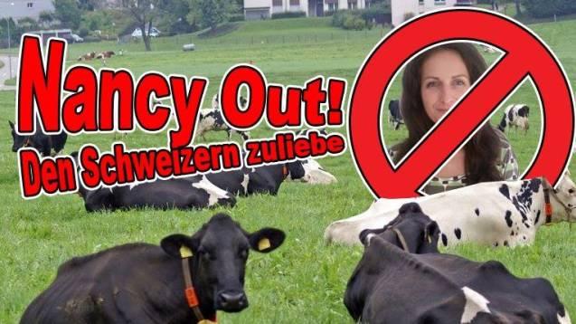 Nicht allen gefällt Nancy Holtens Kampagne gegen die Kuhglocken.
