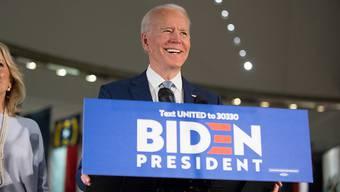 Der designierte Präsidentschaftskandidat der US-Demokraten Joe Biden will sich für weniger Polizeiwillkür und weniger Rassismus in seinem Land einsetzen. (Archivbild)